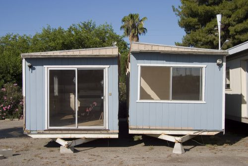 mobile home hors usage